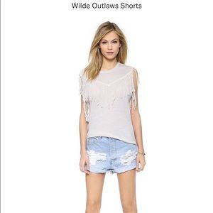 One Teaspoon Wilde Outlaw Shorts